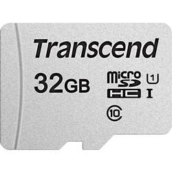 Paměťová karta microSDHC, 32 GB, Transcend Premium 300S, Class 10, UHS-I, UHS-Class 1 - Transcend microSDHC 32GB UHS-I U1 TS32GUSD300S