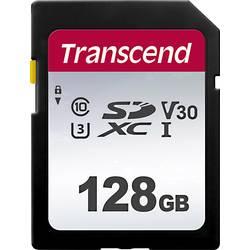 SDXC karta, 128 GB, Transcend Premium 300S, Class 10, UHS-I, UHS-Class 3, v30 Video Speed Class