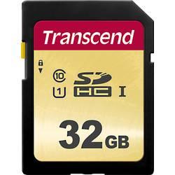 Pamäťová karta SDHC, 32 GB, Transcend Premium 500S, Class 10, UHS-I, UHS-Class 1