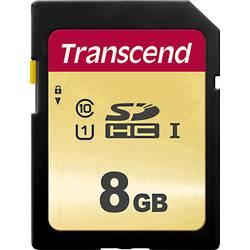 Pamäťová karta SDHC, 8 GB, Transcend Premium 500S, Class 10, UHS-I, UHS-Class 1