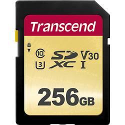SDXC karta, 256 GB, Transcend Premium 500S, Class 10, UHS-I, UHS-Class 3, v30 Video Speed Class