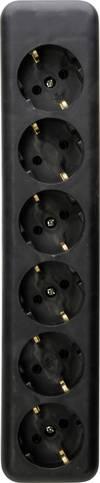 Kopp 129405003 Steckdosenleiste ohne Schalter 6...