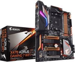 Základní deska Gigabyte X470 AORUS GAMING 7 Socket AMD AM4 Tvarový faktor ATX Čipová sada základní desky AMD® X470