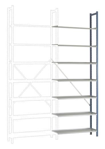 Steck-Regal PLANOFLEX Anbauausführung mit 7 Fachböden RA2186.5007 (B x H x T) 900 x 2600 x 300 mm Brillant-Blau