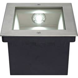 Vonkajšie vstavané LED osvetlenie SLV 229381, 34 W, nerezová oceľ