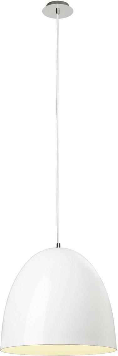 SLV Para Cone 40 155471 Pendelleuchte E27 Weiß (glänzend)