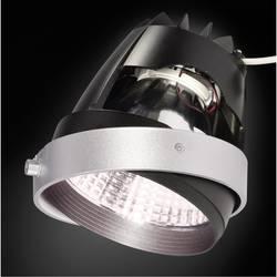 Zabudovateľný krúžok - SLV 115243 striebornosivá, čierna