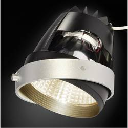 Zabudovateľný krúžok - SLV 115251 striebornosivá, čierna