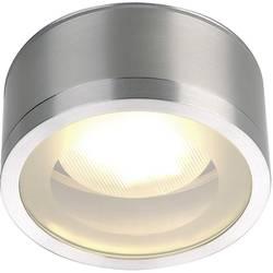 Image of SLV 1000339 Rox Außendeckenleuchte LED, Energiesparlampe GX53 11 W Aluminium (eloxiert)