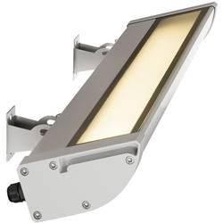 LED vonkajšie nástenné osvetlenie 25 W SLV 227734 striebornosivá