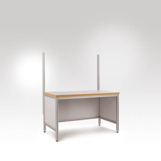 Manuflex ZB8201 Aufbauportal an ALU Tisch ALU Profil 45x45mm 1350mm hoch(Nutzhöhe 900mm)