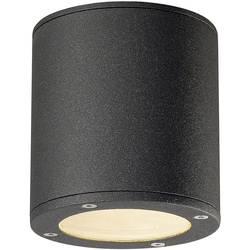 Image of SLV 231545 Sitra Außendeckenleuchte LED, Energiesparlampe GX53 9 W Anthrazit