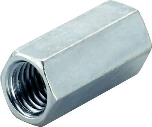 Verlängerungsmuffe (L) 40 mm M12 Stahl galvanisch verzinkt Fischer 20971 100 St.