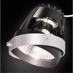 Zabudovateľný krúžok - SLV 115241 striebornosivá, čierna