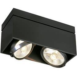 Stropné svetlo halogénová žiarovka SLV Kardamod 117110, GU10, 150 W, čierna (matná)