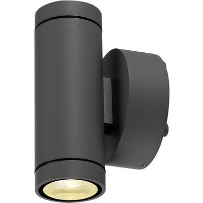 SLV 233235 LED-Außenwandleuchte EEK: LED (A++ - E) 12 W Anthrazit Anthrazit Preisvergleich