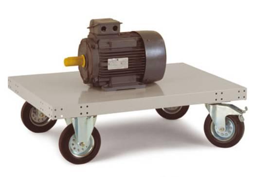 Plattformwagen ohne Schiebebügel Stahlblech Traglast (max.): 200 kg Manuflex TT0021.2001 TT0011.7035