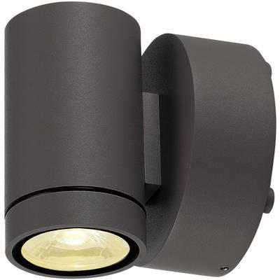 SLV 233225 LED-Außenwandleuchte 8 W Anthrazit Anthrazit Preisvergleich