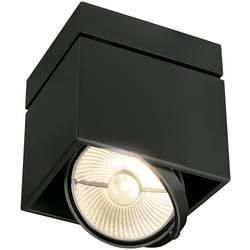 Stropné svetlo halogénová žiarovka SLV Kardamod 117100, GU10, 75 W, čierna (matná)