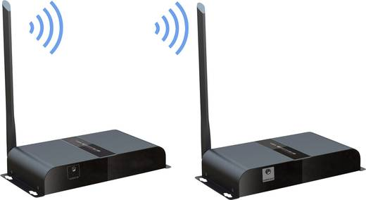 SpeaKa Professional SP-VGFS-01 USB-Funkübertragung (Set) 200 m 5.8 GHz 1920 x 1080 Pixel