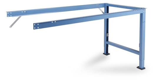 Manuflex WP7020.5007 PROFI Spezial Anbau 1750x700mm ohne Platte m. Teleskop-Klemmschrauben-Höhenverst. 700-1000mm RAL500