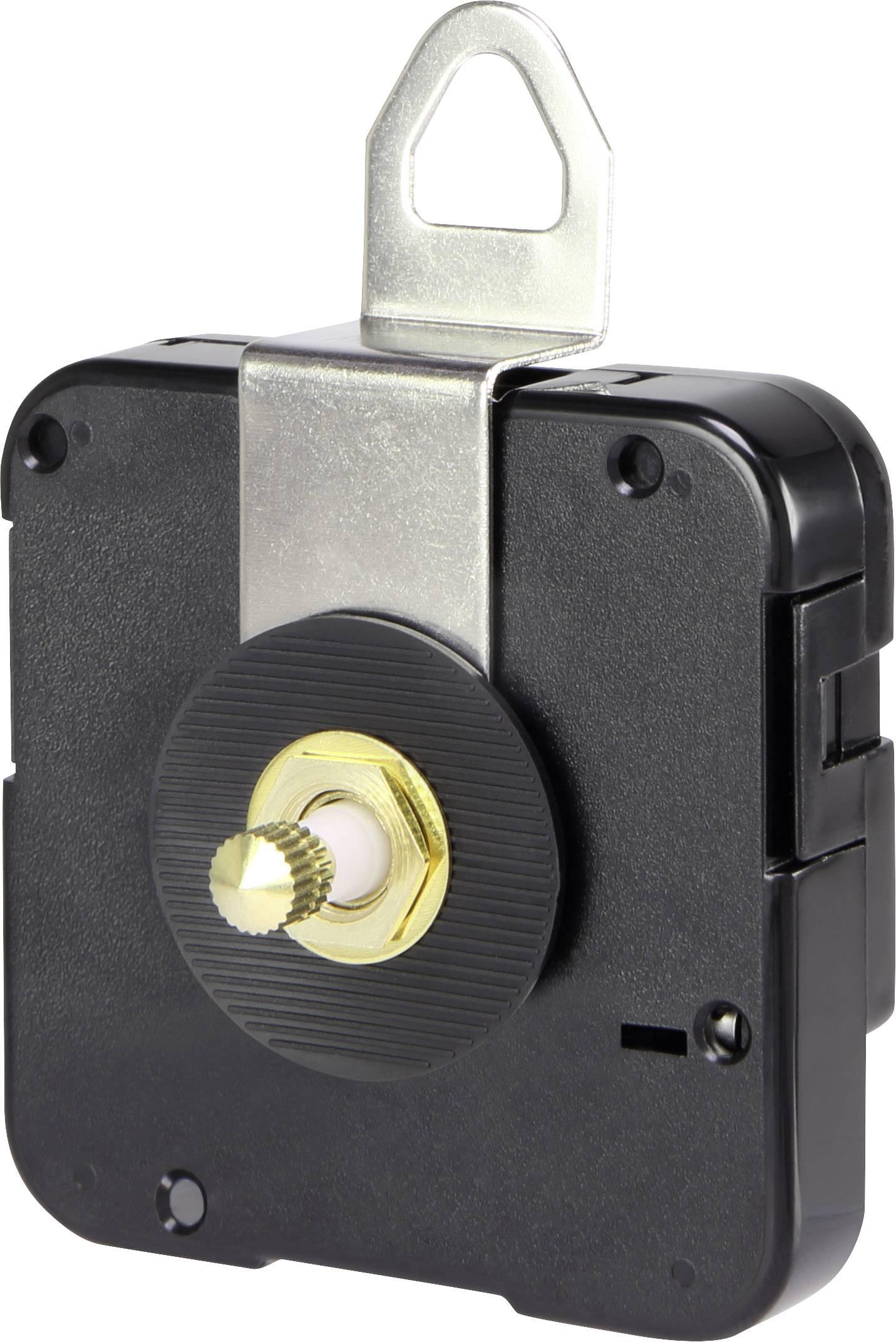 Quarz Uhrwerk schleichend Drehrichtung=rechts Basetech BTQUS148 Zeigerwellen-L/änge=14.8 mm