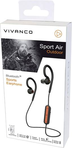 vivanco sport air outdoor bluetooth kopfh rer in ear. Black Bedroom Furniture Sets. Home Design Ideas
