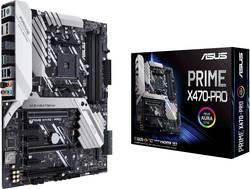 Základní deska Asus Prime X470-Pro Socket AMD AM4 Tvarový faktor ATX Čipová sada základní desky AMD® X470