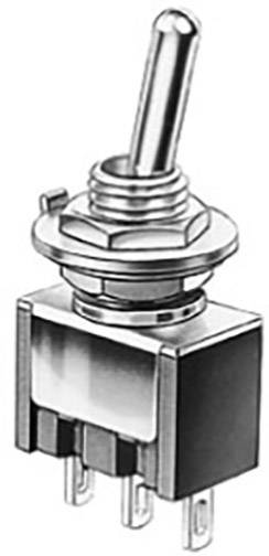 Marquardt 1818.1202 Kippschalter 250 V//AC 6A 1 x Ein//Aus// rastend//0//tastend Ein