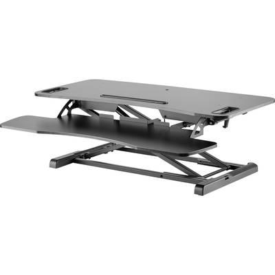 Digitus Da 90380 1 Sitz Steh Schreibtischaufsatz Höhen Bereich 100