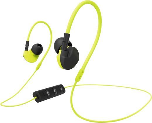 hama active bt bluetooth sport kopfh rer in ear headset. Black Bedroom Furniture Sets. Home Design Ideas
