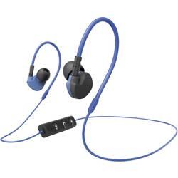 Bluetooth športové štupľové slúchadlá Hama Active BT 177096, modrá