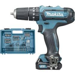 Aku príklepová vŕtačka Makita HP331DSAX1 HP331DSAX1, 10.8 V, 2 Ah, Li-Ion akumulátor