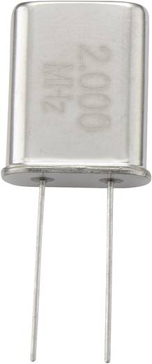 Quarzkristall 168742 HC-49/U 15 MHz 32 pF (L x B x H) 4.7 x 11.1 x 13.46 mm