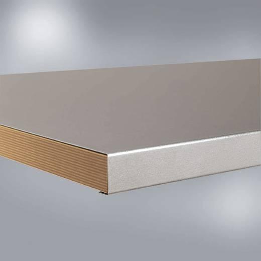 Manuflex ZB1961 Werkbankplatte Blechbelag ver- zinkt, 1000x600x40 mm (B x H x T) 1000 x 40 x 600 mm