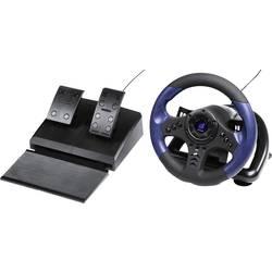 Volant Hama uRage GripZ USB PC modrá, černá vč. pedálů