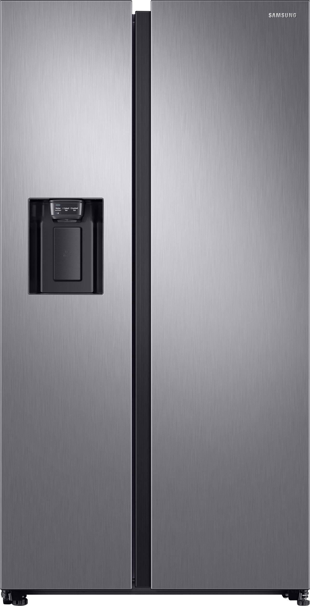 Side By Side Kühlschrank EEK: A++ (A+++   D) 617 L Samsung RS68N8221S9  Edelstahl