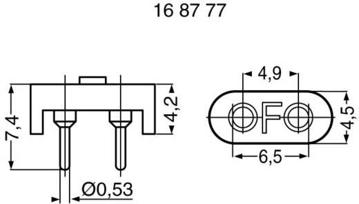 Quarzfassung Fischer Elektronik PQ 18 Z HC-18 (L x B x H) 4.2 x 4.5 x 6.5 mm 1 St.