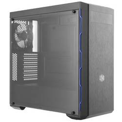 PC skrinka midi tower Cooler Master MasterBox MB600L, čierna, modrá