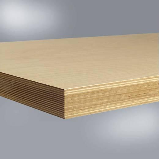 Manuflex ZB1054 Werkbankplatte Multiplex, 40 mm 2000x700 mm (B x H x T) 2000 x 40 x 700 mm