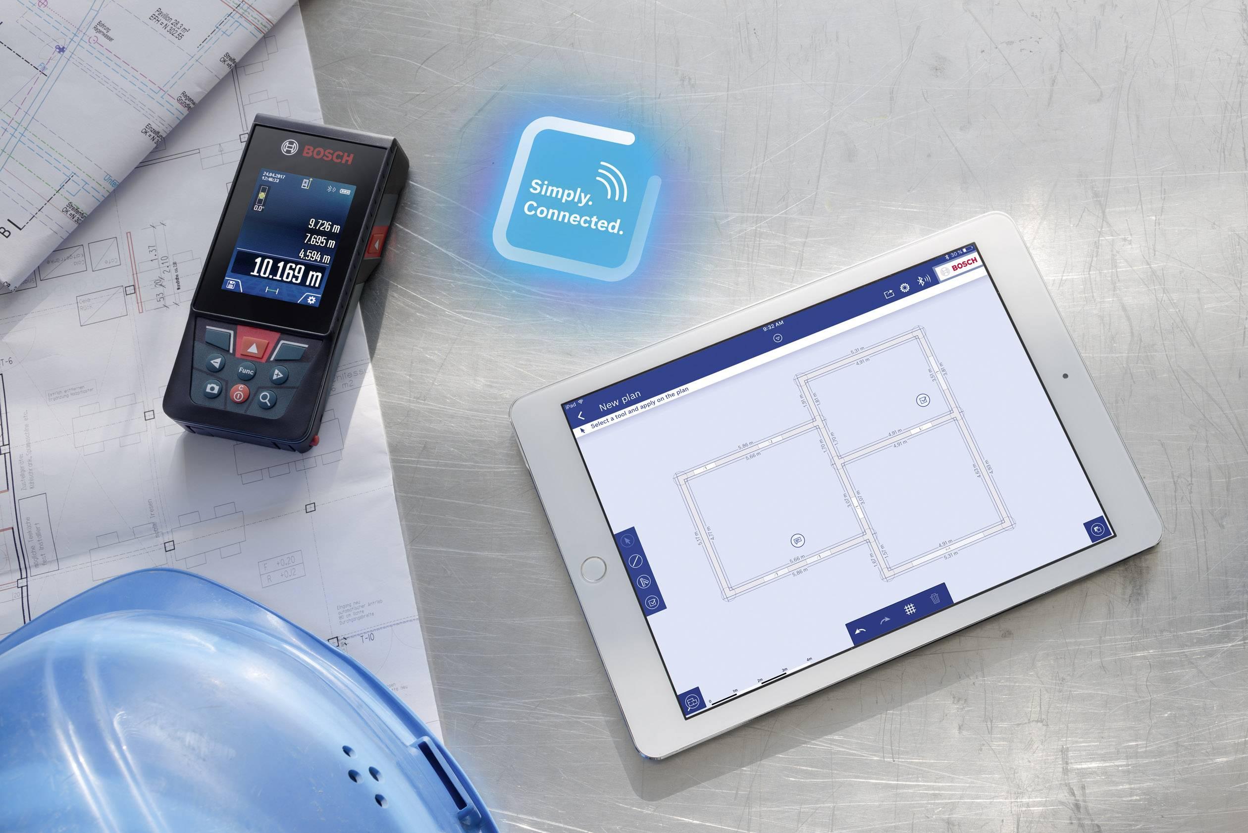 Laser Entfernungsmesser Ultraschall : Bosch professional glm c prof laser entfernungsmesser