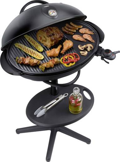 elektro kugel grill steba germany bbq 516 thermometer im. Black Bedroom Furniture Sets. Home Design Ideas