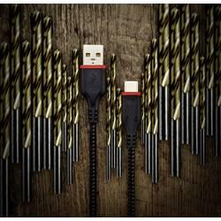 USB 2.0 kabel Renkforce Strong RF-3385670, 1 m, černá