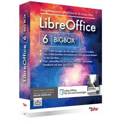 Bhv Verlag Libreoffice 6 Bigbox Vollversion 1 Lizenz Windows Office Paket