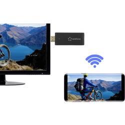 Streamovacie HDMI zariadenie Renkforce RF-3386052, 2.4 Mbit/s, HDMI ™, microUSB, Wi-Fi