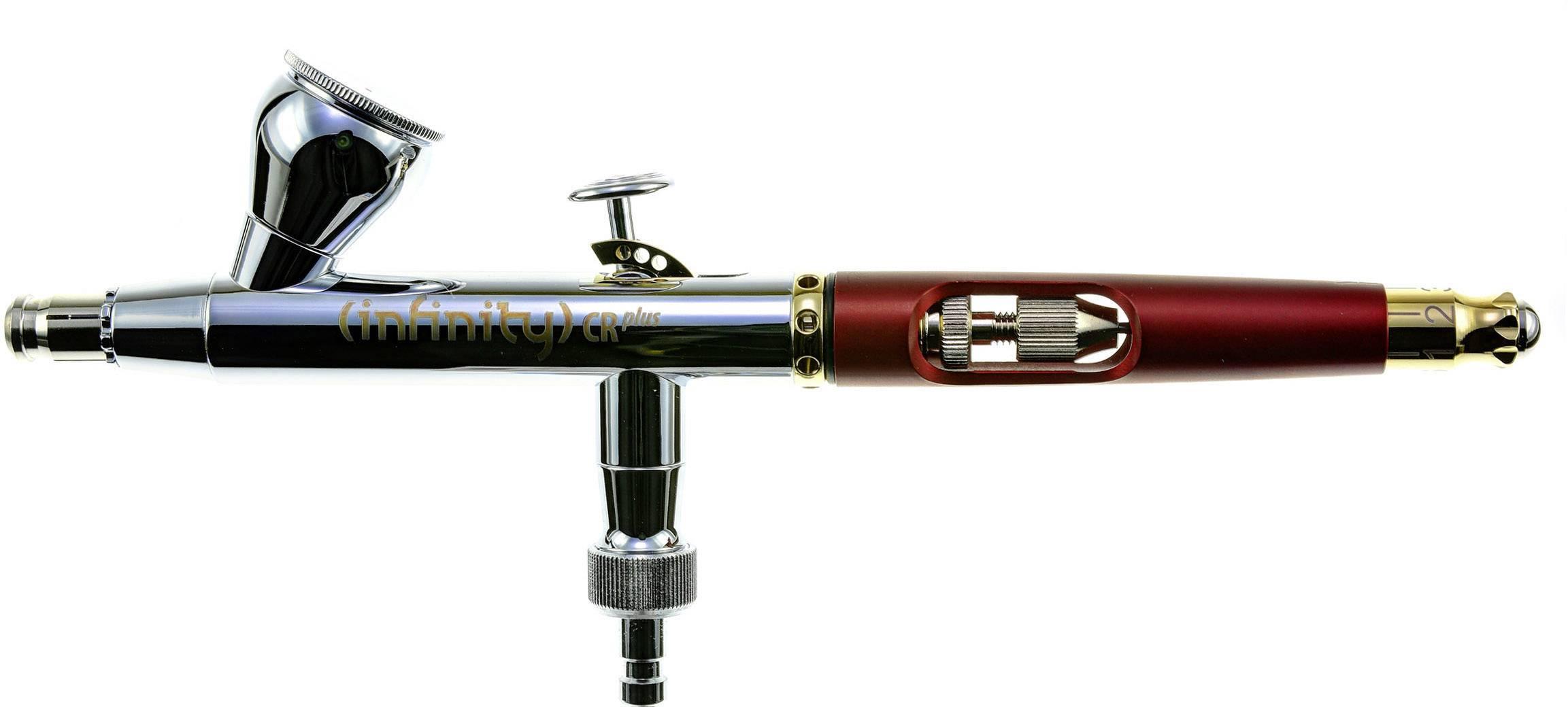 Präzise Airbrushpistole Double Action Funktion 0,3+0,5+0,8mm Düsen Behälter