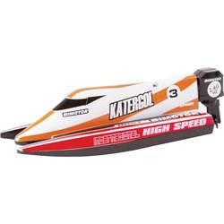 Empfehlung: Ferngesteuertes Motorboot Invento Mini Race Boat Red RC  RtR 140  von INVENTO*