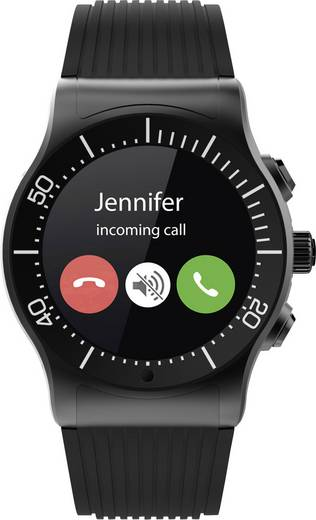 Smartwatch MyKronoz ZESPORT Gehäusefarbe: Schwarz Farbe (Armband): Schwarz