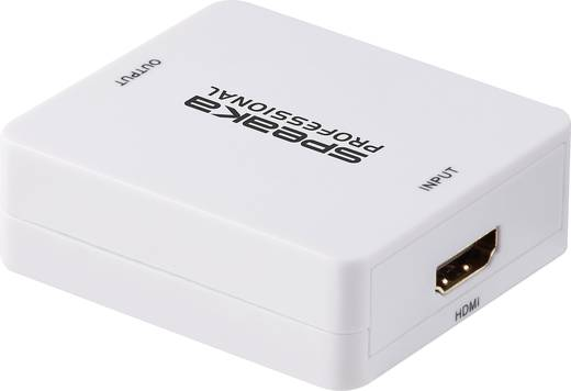 SpeaKa Professional Audio Extraktor [HDMI - HDMI, Klinke, Cinch] 1920 x 1080 Pixel