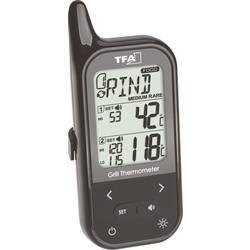 Grilovací teplomer s alarmom, s káblovým senzorom, pre rúry a meranie telpoty v jadre potravín TFA Dostmann 14.1511.01